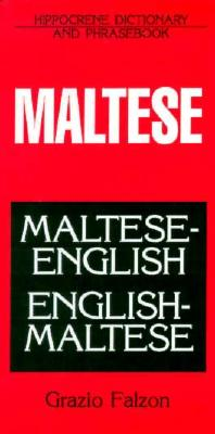 Dic Maltese-English English-Maltese Dictionary and Phrasebook By Falzon, Grazio